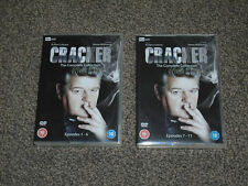 CRACKER :  THE COMPLETE COLLECTION - DVD BOXSET IN VGC (FREE UK P&P)