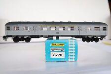 Trix Express HO/DC 3778 Nahverkerswagen Silberling 1/2 Kl DB (AA/554-10R7/7)