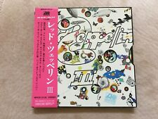 LED ZEPPELIN-Led Zeppelin III-70/2008 CD MINI LP Japan SHM