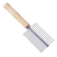 Peigne brosse dent métal chien toilettage soin animal