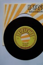 ELVIS PRESLEY SUN RECORD WITH SUN SLEEVE THATS ALL RIGHT #209 TRULY MINT