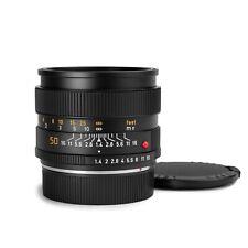 Leica 50mm f/1.4 Summilux-R 3-Cam E55 Leitz German Lens *Recent CLA & Nr MINT!*