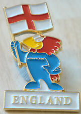 ENGLAND at 1998 WORLD CUP in FRANCE badge Stud fitting 21mm x 32mm