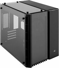 Corsair Crystal Series Gaming Case 280X Tempered Glass Micro ATX PC Tower-Black