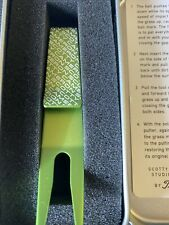 New SCOTTY CAMERON GALLERY Super Fast  Clip Pivot Tool Misted Green Golf