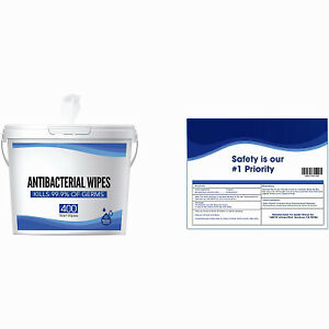 4 Pack - 400CT Wipes/Bucket -WIPES-400