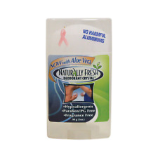 Naturally Fresh Deodorant Crystal Wide Stick 3 oz (90 grams) Stick(S)