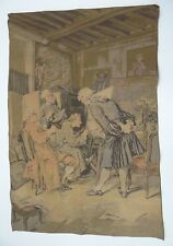 Vintage Founding Fathers American Art Tapestry Wall Hanging Fabric Wall Hanger