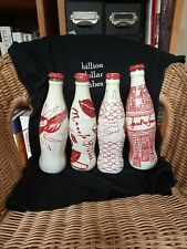 More details for collectible glass coke bottles