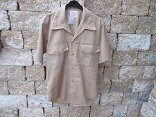 Orig. NOI USMC Camicia da campo Luce Camicia tropicale Kaki Coyote Tg M Esercito