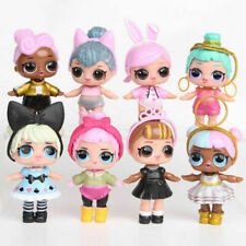 8 Set LOL Surprise Dolls Figures Cake Toppers Toys Gift Accessories