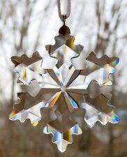 SWAROVSKI Crystal 2016 Little Snowflake Christmas Ornament Mint NIB 5180211