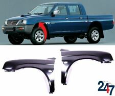 FRONT WING FENDER PAIR SET LEFT RIGHT COMPATIBLE WITH MITSUBISHI L200 1996-2002
