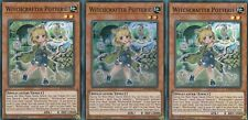 YUGIOH 3 X WITCHCRAFTER POTTERIE  INCH-EN014 - SUPER   INFINITY CHASERS