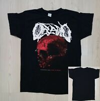 Rare OCEANO (American Deathcore) T-Shirt : Dark Prophecy 2017 (L)