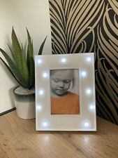 White LED Light Up Photo Frame 10 X 15 Home Decoration Gift