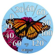 New listing Butterfly E-Z Read Dial Thermometer with Beach Multi-Color 12.5 in