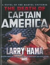 Captain America : The Death of Captain America Prose Novel (2014, Hardcover)