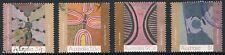 1988 Australia Art Of The Desert Set Of 4 High Values, Good To Fine Used