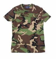 Polo Ralph Lauren Mens T-Shirt Green Size Large L Camouflage Tee $59- 077