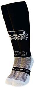 WackySox Jolly Roger Sports Socks, Rugby Socks, Hockey Socks
