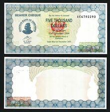Zimbabwe 5000 Dollars 2003 2004, UNC, P-21