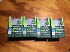 24 pack LED G25 Vanity globe - 6W (40 Watt Equivalent) D...