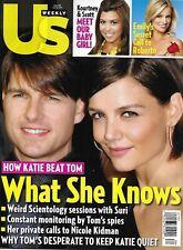 Tom Cruise Katie Holmes Us Weekly Magazine Kourtney Kardashian The Bachelorette