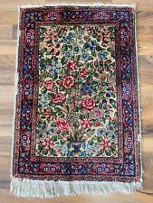 ✔ Kirman   49 x 70   Handgeknüpft   Orientteppich   Carpet   Rug