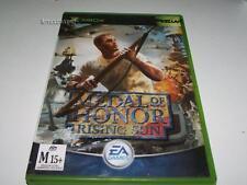 Medal of Honor Rising Sun Xbox Original PAL *Complete*