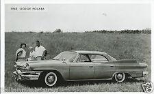 Dodge Polara 1960 Original Press Photograph NOT A Modern Copy