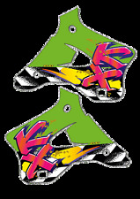 Rad calcomanías (95) Pegatinas de gráficos KX 125 250 1994 a 1998 KX125 KX250