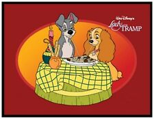 LADY AND THE TRAMP FRIDGE MAGNET # 4. 4X5. DISNEY CARTOONS.....FREE SHIPPING