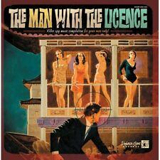 LP The Man With a Licence – Various 10 INCH 25 CM - JAMES BOND THEME - NEW VINYL
