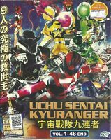 UCHU SENTAI KYURANGER - COMPLETE TV SERIES DVD BOX SET (1-48 EPIS)