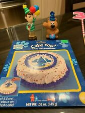 Blues Clues Birthday Party Edible Cake Topper and Figure Lot