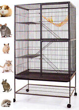 X-Large Deluxe Double Unit Cage Guinea Pig Mice Chinchilla Rat Rabbit Ferret