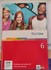 Workbook mit Audio CD Lernsoftware Klett 6 Red Line Klett  Realschule Kl. 10 NEU