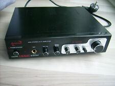 MINI Audio Power Amplifier E-SA 18 mini Stereo Verstärker Karaoke