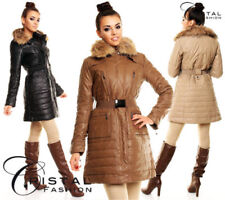 Winter-Trenchcoat Damenjacken & -mäntel ohne Muster