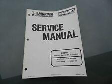 1994 MARINER MERCURY 50 4-STROKE OUTBOARD SERVICE SHOP MANUAL 90-828631