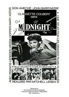 Dossier De Presse Du Film Midnight La Baronne de minuit De Mitchell Leisen