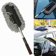 Car Wash Cleaning Brush Duster Dust Wax Mop Microfiber Telescoping Dusting Clean