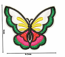 Butterfly Iron Sew Embroidered Patch Badge Patches Logo Fancy Badges #305