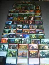 MTG Magic EDH WEREWOLF DECK Huntmaster of the Fells Mayor Wolves Wolf LOT RARE
