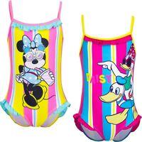 Costume da bagno bambina di Minnie intero bimba mare piscina 3 4 6 8 anni disney