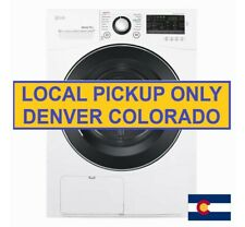 New Lg 4.2 cu ft Compact Electric Condensing Front Load Dryer Ventless Dlec888W