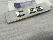Emblem Badge Trunk Rear Chrome  Genuine OEM for Mercedes Benz C63 C 63 AMG W204