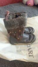 Clarks Lilfolk Rae 8.5f Toddler Boots VGC