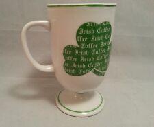 Shafford Japan Shamrock Irish Coffee Footed 8 Oz Mug